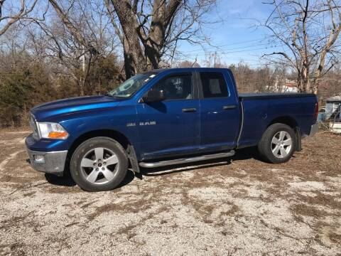 2009 Dodge Ram Pickup 1500 for sale at Schlotzhauer Auto in Gravois Mills MO
