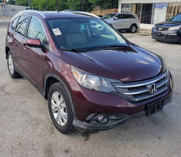 2012 Honda CR-V for sale at Apex Auto SA in San Antonio TX