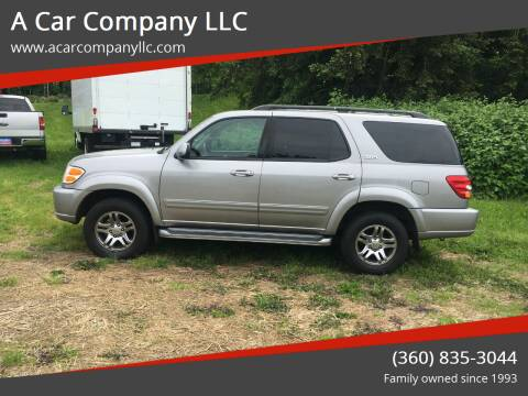 2004 Toyota Sequoia for sale at A Car Company LLC in Washougal WA