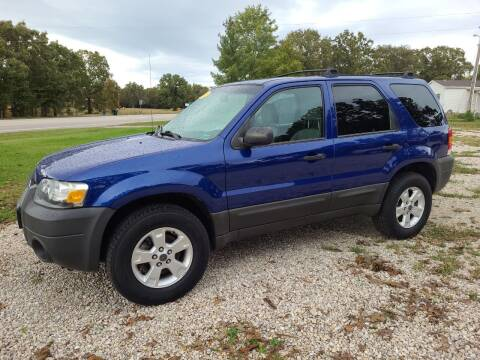 2005 Ford Escape for sale at Moulder's Auto Sales in Macks Creek MO