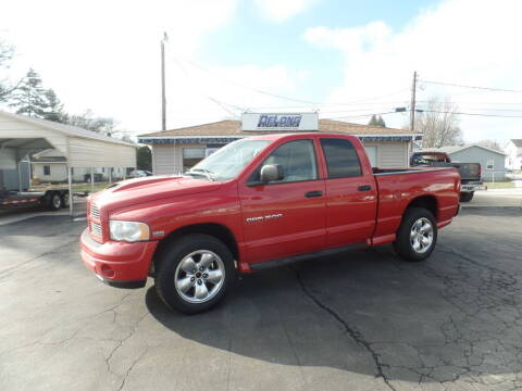2004 Dodge Ram Pickup 1500 for sale at DeLong Auto Group in Tipton IN