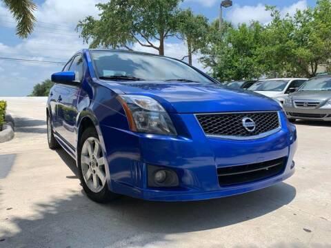 2012 Nissan Sentra for sale at AUTOSPORT MOTORS in Lake Park FL