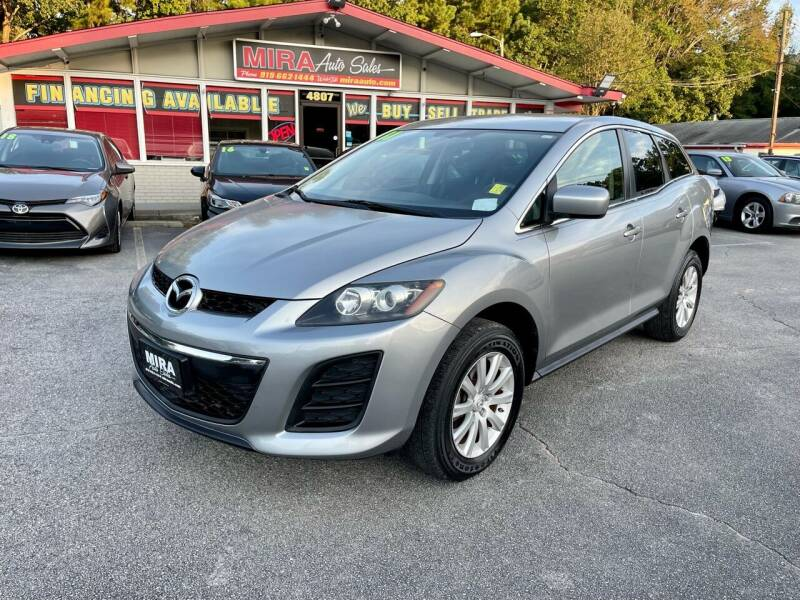 2011 Mazda CX-7 for sale at Mira Auto Sales in Raleigh NC