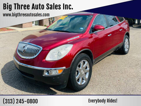 2010 Buick Enclave for sale at Big Three Auto Sales Inc. in Detroit MI