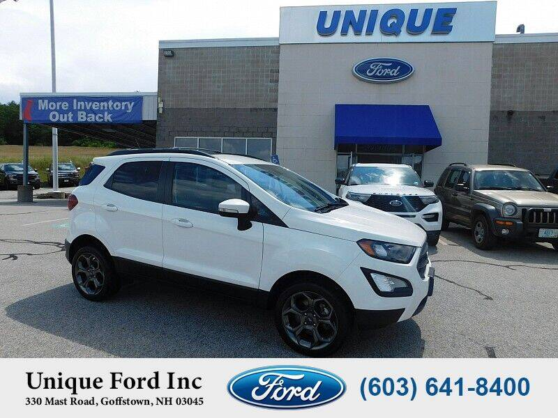 2018 Ford EcoSport for sale at Unique Motors of Chicopee - Unique Ford in Goffstown NH