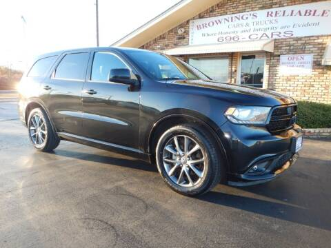 2015 Dodge Durango for sale at Browning's Reliable Cars & Trucks in Wichita Falls TX