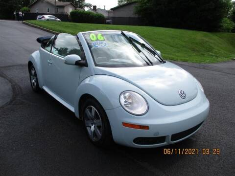 2006 Volkswagen New Beetle Convertible for sale at Euro Asian Cars in Knoxville TN