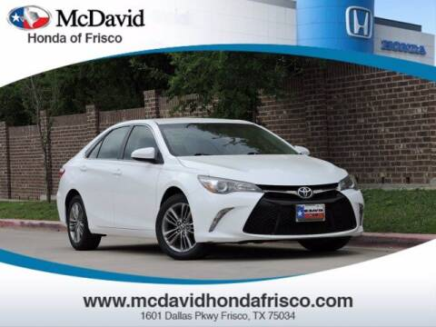 2015 Toyota Camry for sale at DAVID McDAVID HONDA OF IRVING in Irving TX