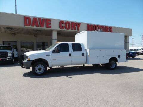 2004 Ford F-450 Super Duty for sale at DAVE CORY MOTORS in Houston TX