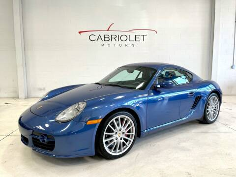 2007 Porsche Cayman for sale at Cabriolet Motors in Morrisville NC