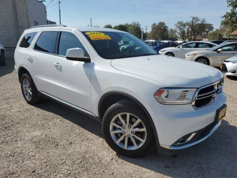 2018 Dodge Durango for sale at CHURCHILL AUTO SALES in Fallon NV