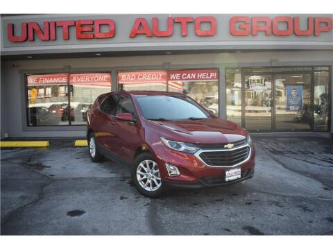 2018 Chevrolet Equinox for sale at United Auto Group in Putnam CT