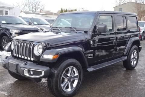 2020 Jeep Wrangler Unlimited for sale at Olger Motors, Inc. in Woodbridge NJ