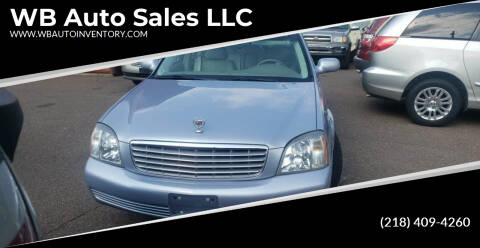 2005 Cadillac DeVille for sale at WB Auto Sales LLC in Barnum MN