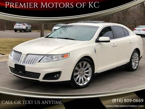 2009 Lincoln MKS for sale at Premier Motors of KC in Kansas City MO