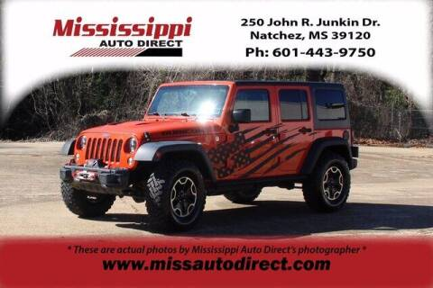 2015 Jeep Wrangler Unlimited for sale at Auto Group South - Mississippi Auto Direct in Natchez MS