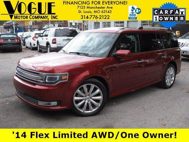 2014 Ford Flex for sale at Vogue Motor Company Inc in Saint Louis MO