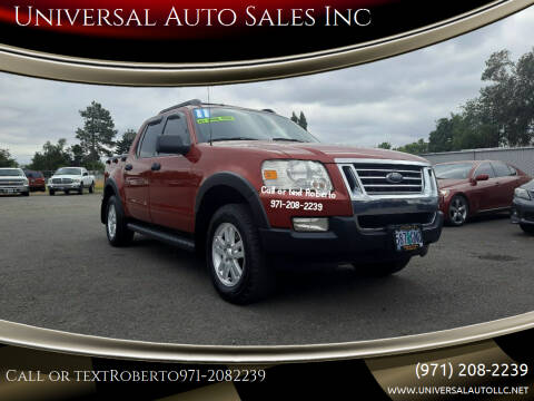 2010 Ford Explorer Sport Trac for sale at Universal Auto Sales Inc in Salem OR