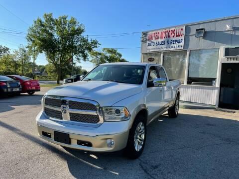 2013 RAM Ram Pickup 1500 for sale at United Motors LLC in Saint Francis WI