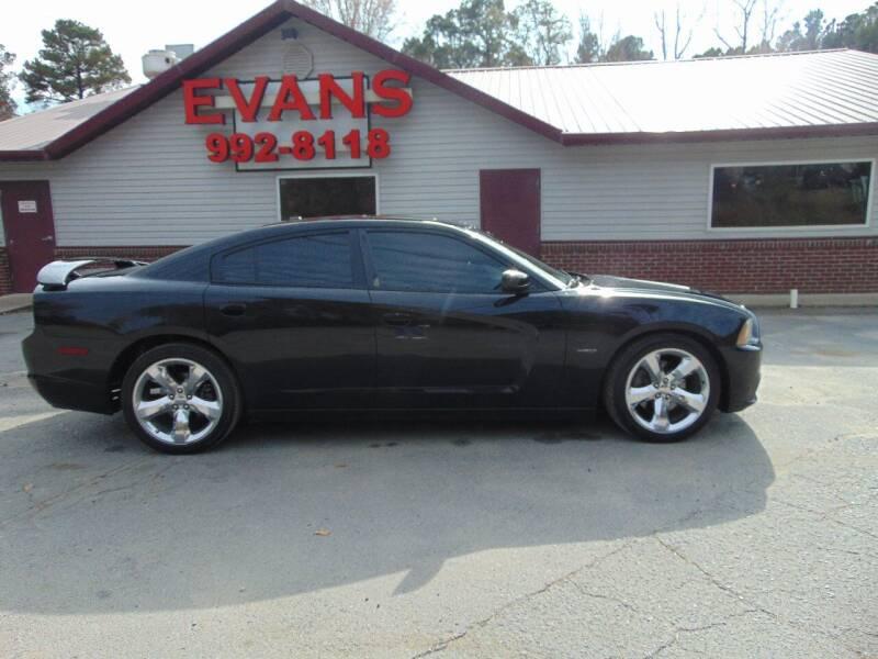 2012 Dodge Charger for sale at Evans Motors Inc in Little Rock AR