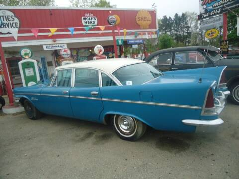 1957 Chrysler saratoga for sale at Marshall Motors Classics in Jackson Michigan MI