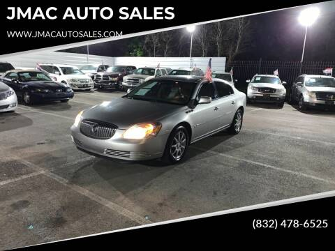 2007 Buick Lucerne for sale at JMAC AUTO SALES in Houston TX