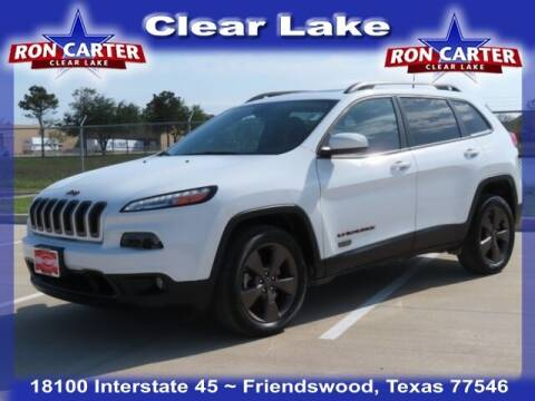2016 Jeep Cherokee for sale at Ron Carter  Clear Lake Used Cars in Houston TX