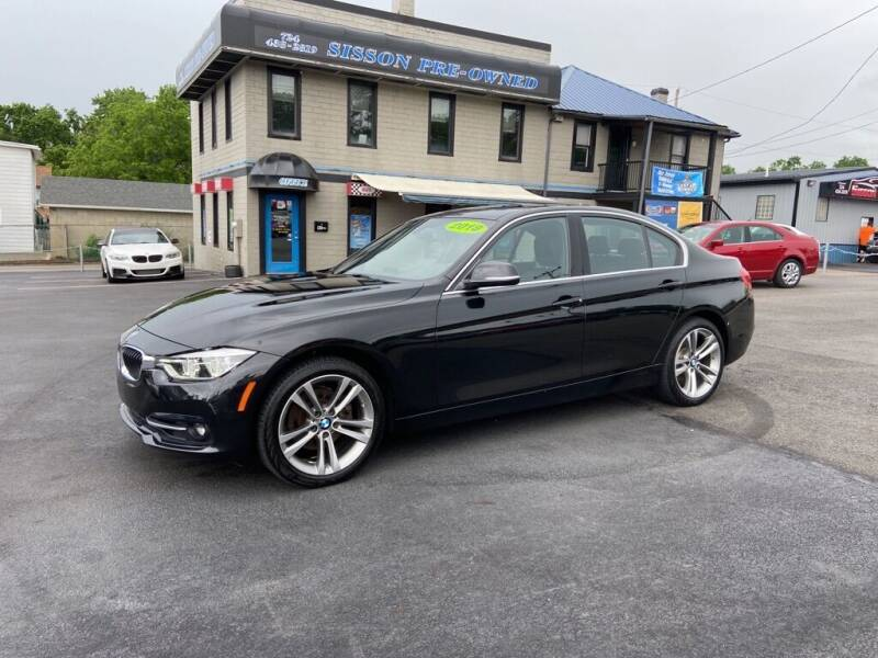 2018 BMW 3 Series for sale at Sisson Pre-Owned in Uniontown PA