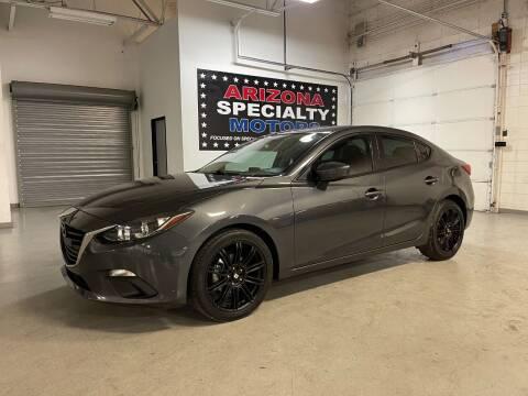 2015 Mazda MAZDA3 for sale at Arizona Specialty Motors in Tempe AZ