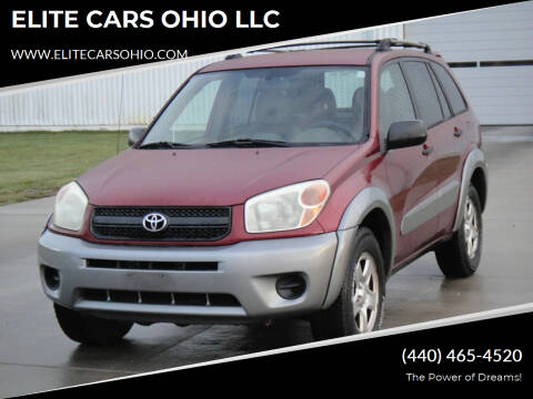 2004 Toyota RAV4 for sale at ELITE CARS OHIO LLC in Solon OH