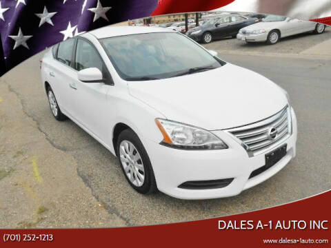 2015 Nissan Sentra for sale at Dales A-1 Auto Inc in Jamestown ND