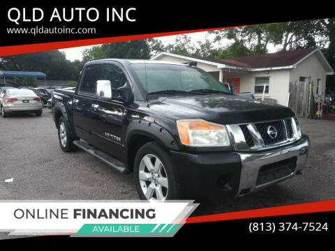 2009 Nissan Titan for sale at QLD AUTO INC in Tampa FL