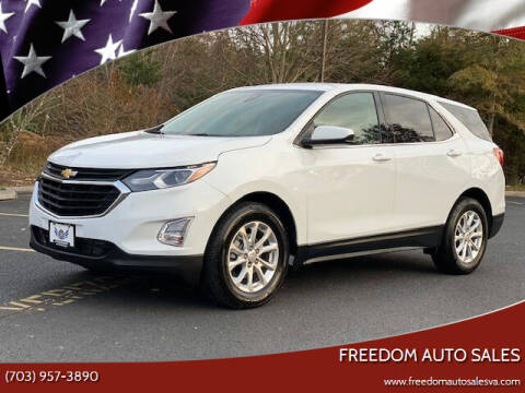 2020 Chevrolet Equinox for sale at Freedom Auto Sales in Chantilly VA