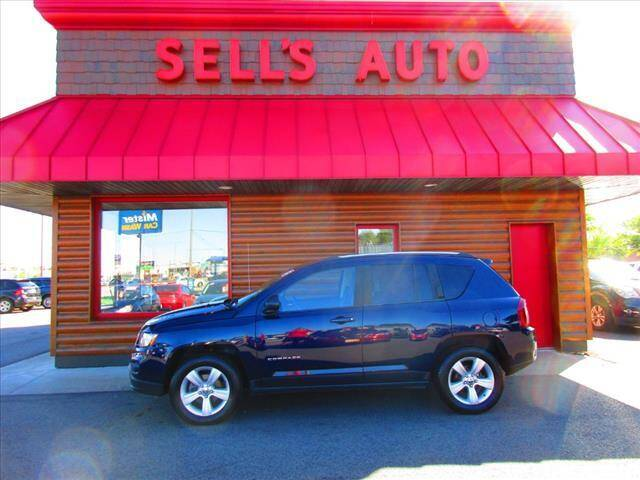 2015 Jeep Compass for sale at Sells Auto INC in Saint Cloud MN