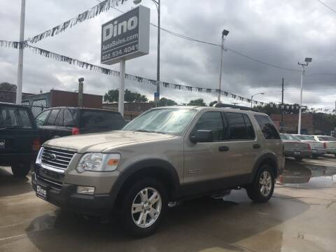 2006 Ford Explorer for sale at Dino Auto Sales in Omaha NE