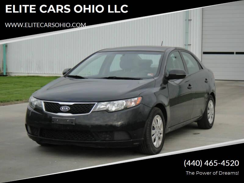 2012 Kia Forte for sale at ELITE CARS OHIO LLC in Solon OH