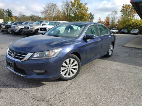 2014 Honda Accord for sale at Cruisin' Auto Sales in Madison IN