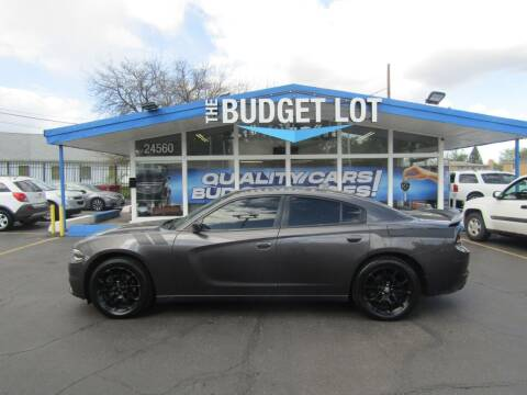2016 Dodge Charger for sale at THE BUDGET LOT in Detroit MI