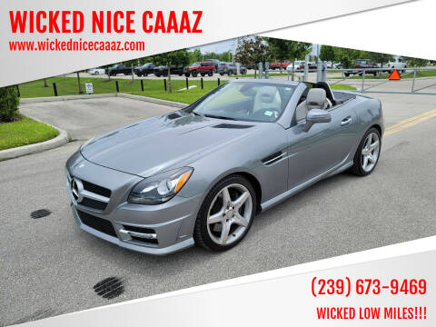 2013 Mercedes-Benz SLK for sale at WICKED NICE CAAAZ in Cape Coral FL