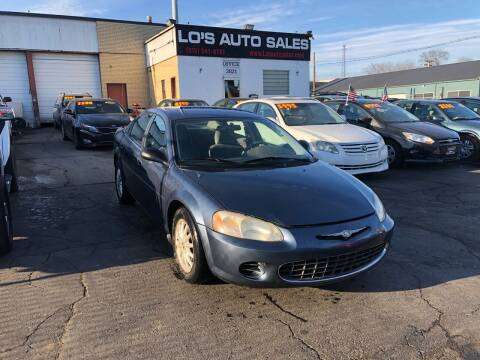 2003 Chrysler Sebring for sale at Lo's Auto Sales in Cincinnati OH
