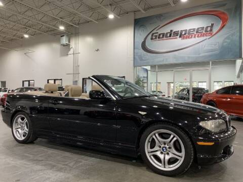 2004 BMW 3 Series for sale at Godspeed Motors in Charlotte NC
