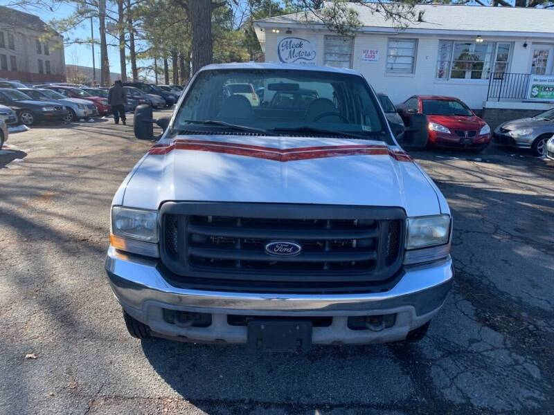 2004 Ford F-350 Super Duty for sale at MEEK MOTORS in North Chesterfield VA