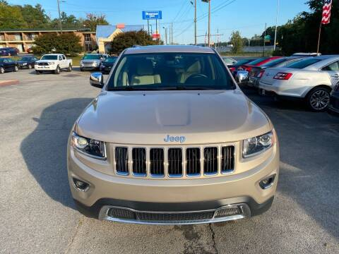 2014 Jeep Grand Cherokee for sale at J Franklin Auto Sales in Macon GA