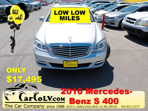 2010 Mercedes-Benz S-Class for sale at The Car Company in Las Vegas NV