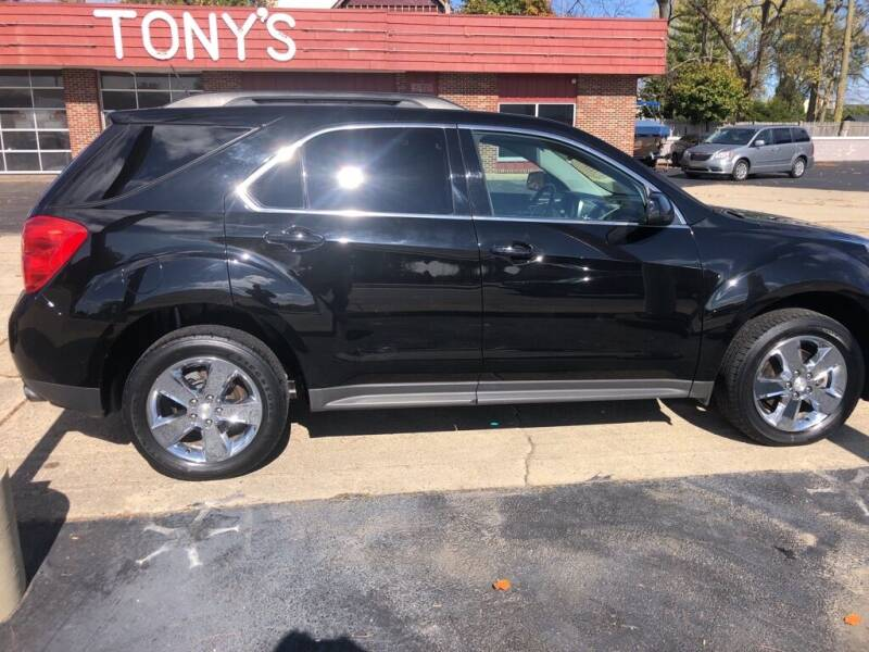 2015 Chevrolet Equinox for sale at Tonys Car Sales in Richmond IN