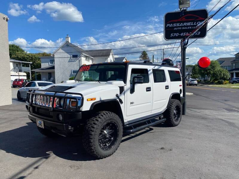 2003 HUMMER H2 for sale at Passariello's Auto Sales LLC in Old Forge PA