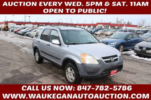 2002 Honda CR-V for sale at Waukegan Auto Auction in Waukegan IL