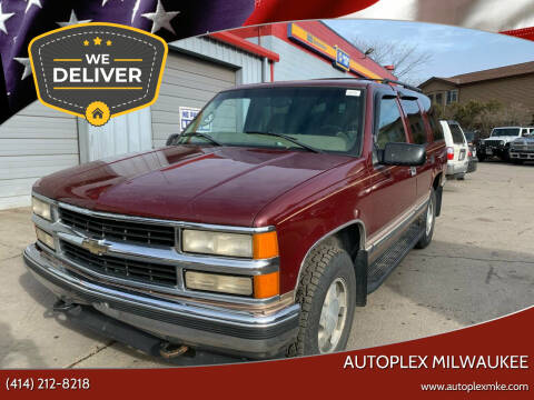 1998 Chevrolet Tahoe for sale at Autoplex Milwaukee in Milwaukee WI
