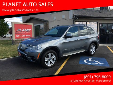 2012 BMW X5 for sale at PLANET AUTO SALES in Lindon UT