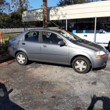 2006 Chevrolet Aveo for sale at Easy Credit Auto Sales in Cocoa FL